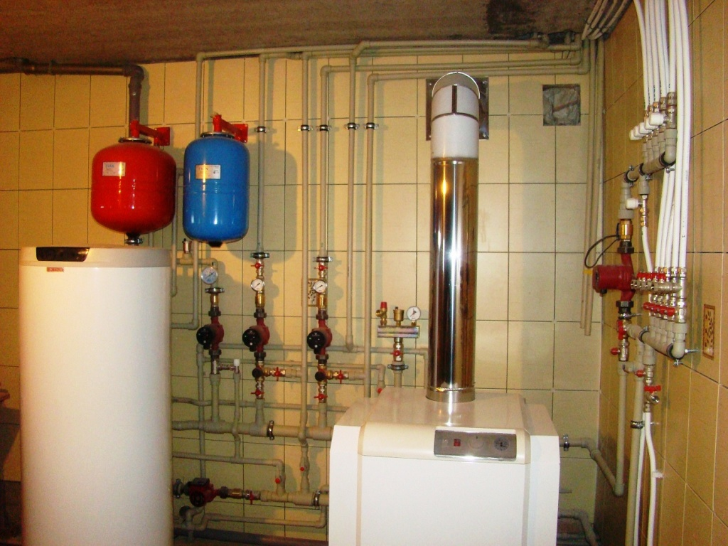 Автономное отопление коттеджа