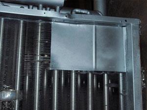 Теплообменник после ремонта