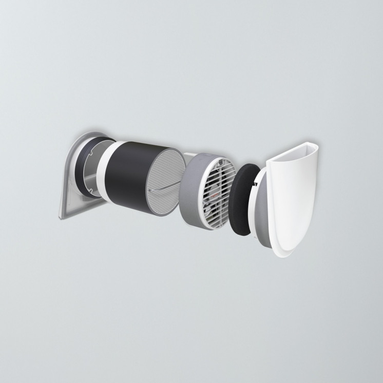 Viessmann расширяет программу поставок системы вентиляции Vitovent 100-D