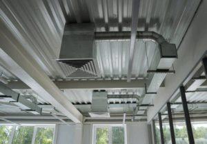 Проект вентиляции помещения в соответствии с нормами и требованиями